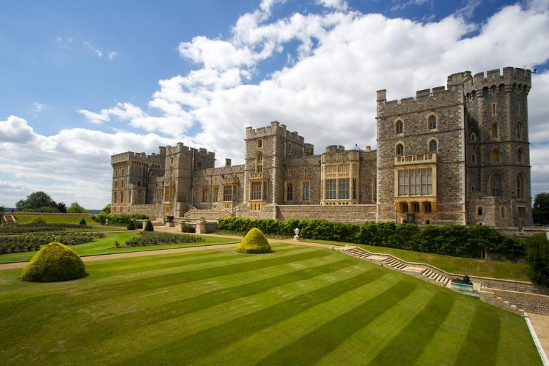 windsor-castle, romantic-historical-building