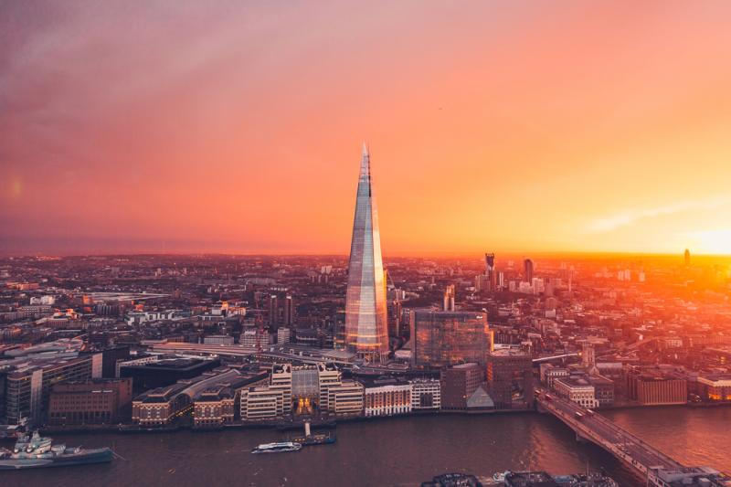 shard-sunset