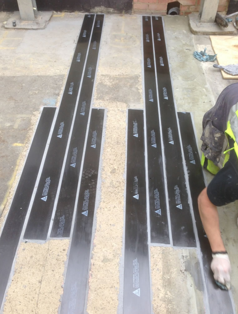 Plate Bonding Concrete Repair Concrete Renovations