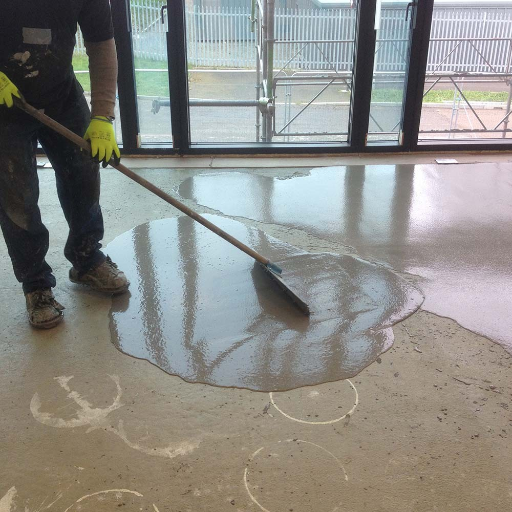 Concrete flooring repairs and maintenance concrete for Concrete flooring service